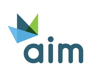 final variation logo for aim
