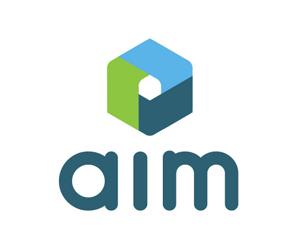 aim logo variation