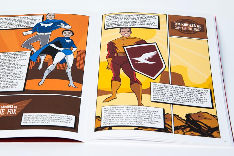Internal Marketing Material Comic for Assurity