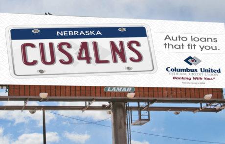CUFCU Billboard Design