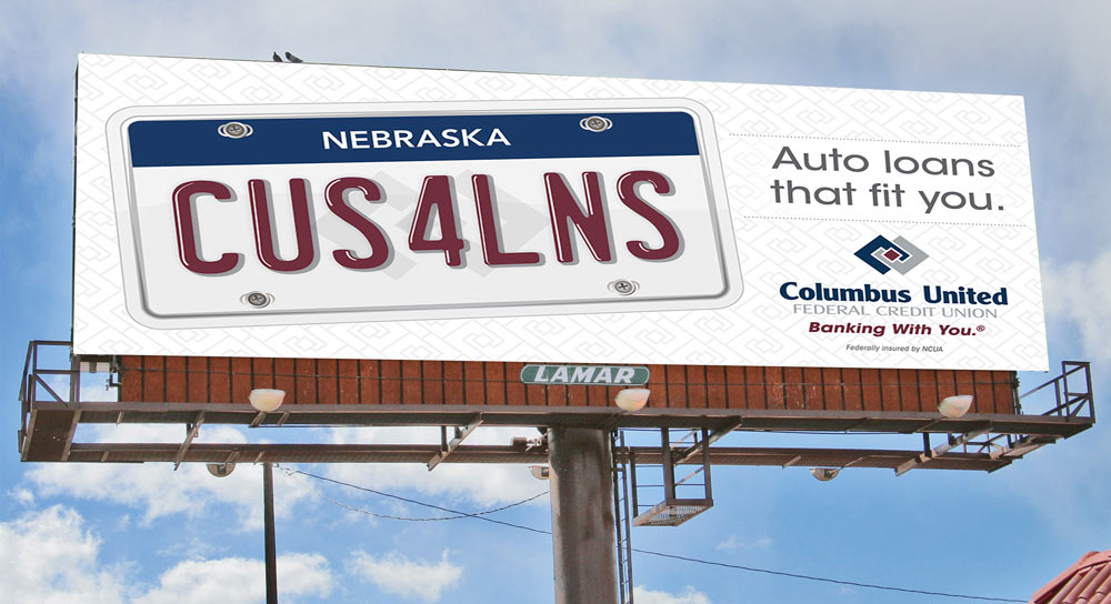 CUFCU Billboard Design