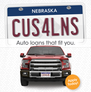 Credit Union Poster Marketing for auto loan