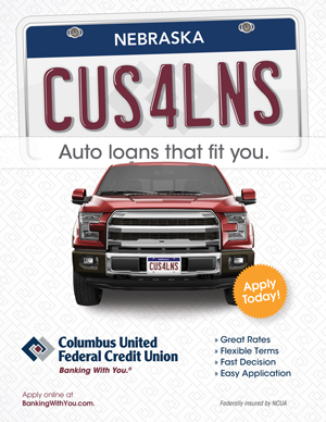 Poster Design for Columbus United Credit Union