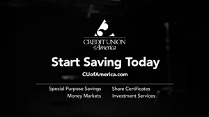 end card of TV ad for credit union