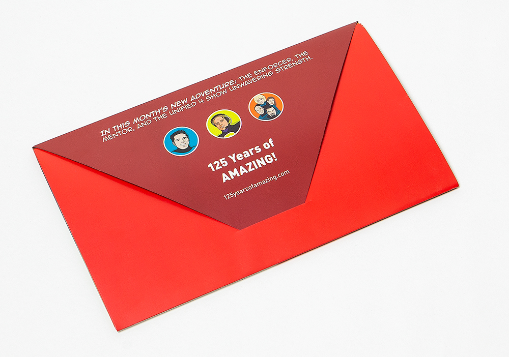 closed superhero mailer