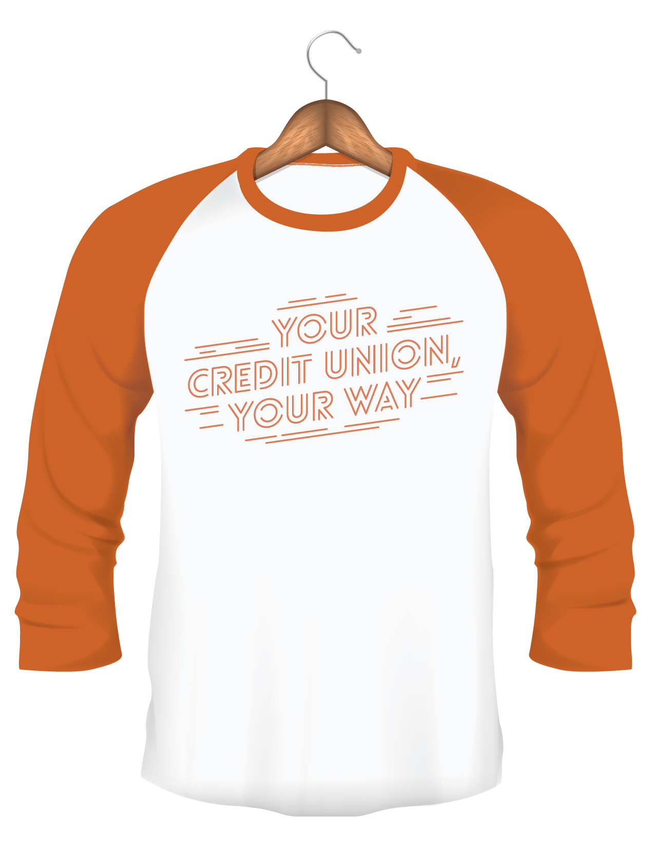"""Your Credit Union, Your Way"" t-shirt"