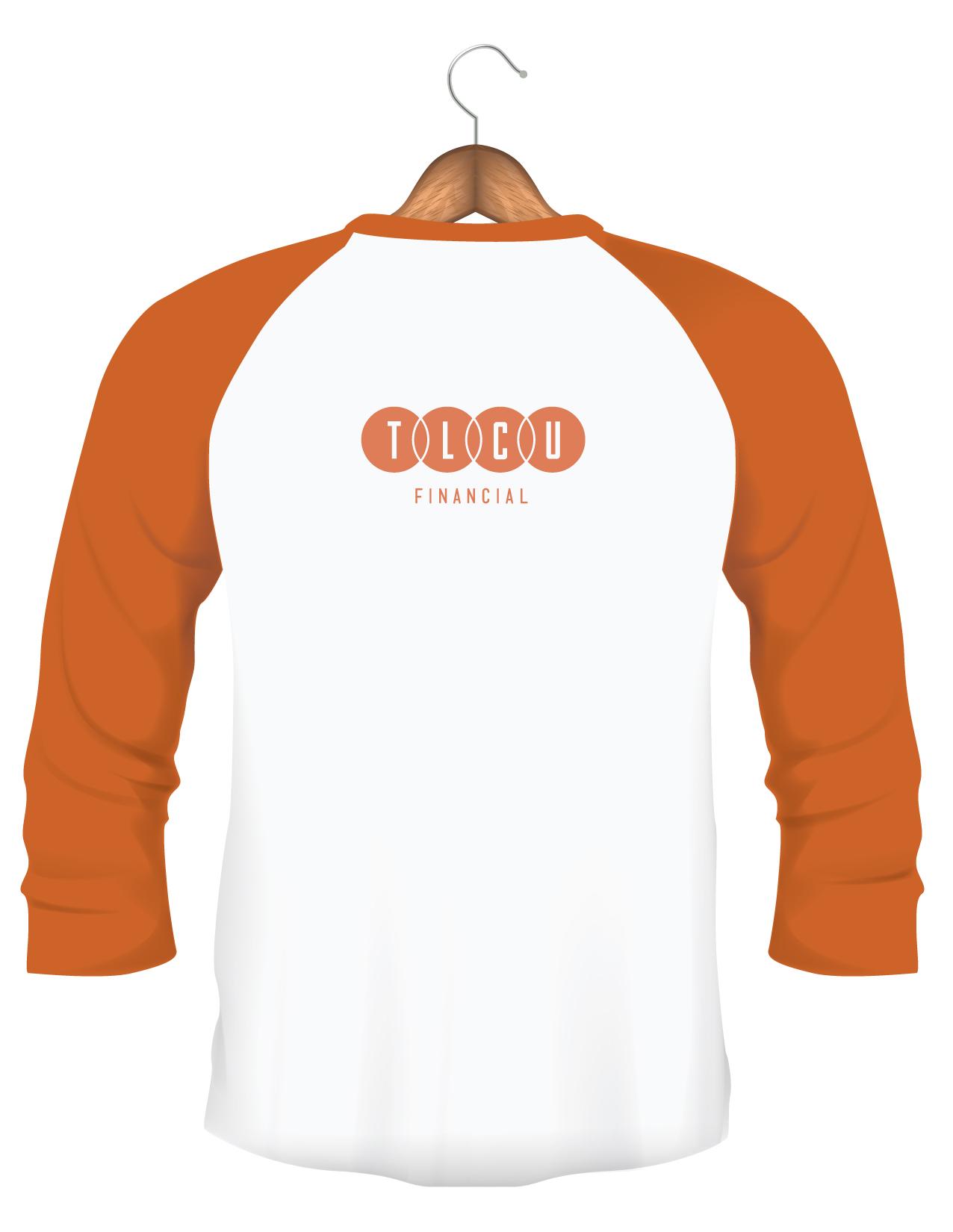 back of credit union t-shirt
